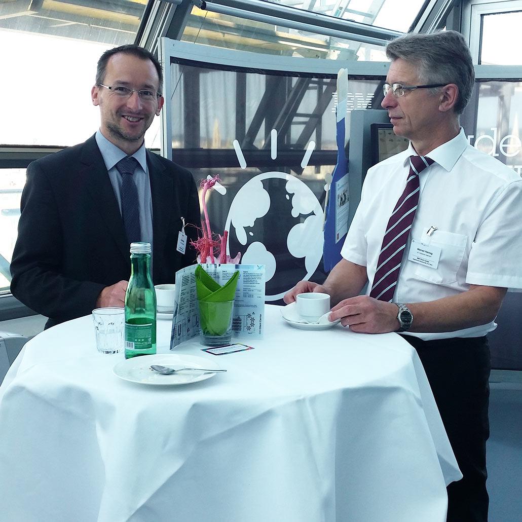 FH-Prof. Mag. Dr. Gerald Petz (FH Steyr) & Mag. Werner Herzog