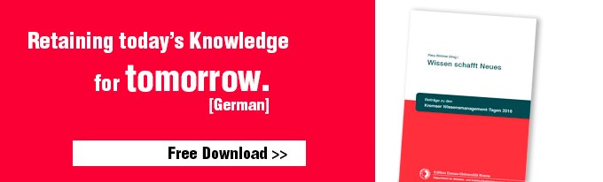 Abstract: retaining today's knowledge for tomorrow